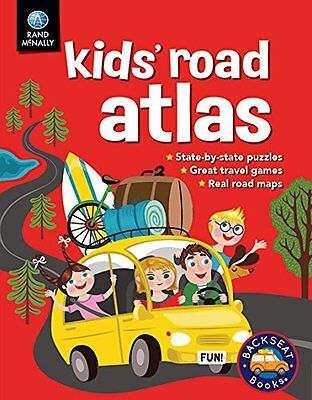 Kids' Road Atlas: Rand McNally