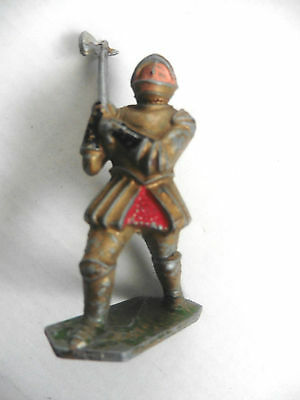Lone Star Harvey Series  Plastic Toy Knight With Axe Number 9 1960's Rare