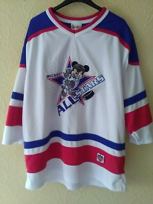 Disney Mickey Mouse   Ice  Hockey Shirt Size  L