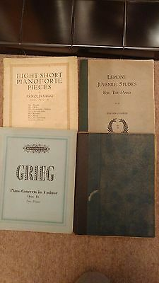 Lot10 - Various classical vintage sheet music