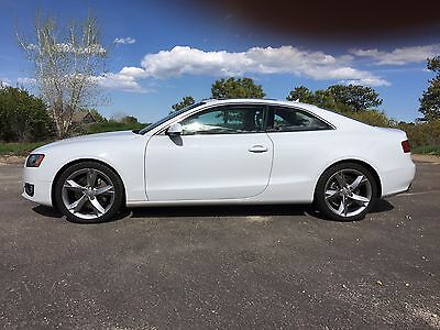 2012 Audi A5 Premium Plus 2012 Audi A5 Premium Plus AWD Quattro 8 Speed Automatic-Tiptronic Moonroof