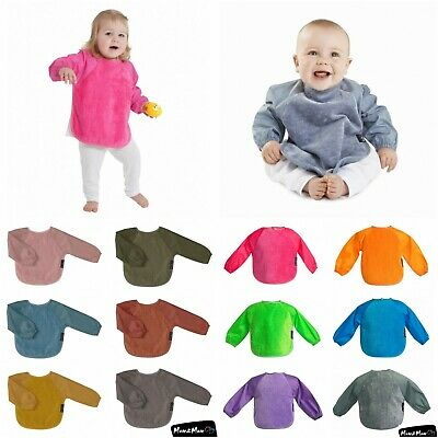 Mum 2 Mum Small Sleeved Wonder Bib x 2, Coverall, Feeding, Weaning, Multipack