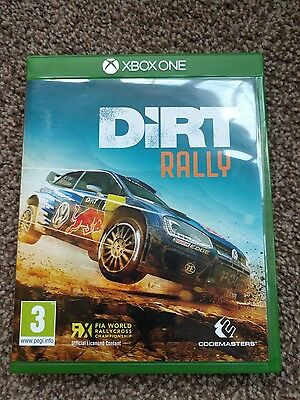 dirt rally microsoft xbox one video game. Black Bedroom Furniture Sets. Home Design Ideas