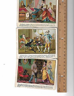 Day & Martin Lot of 3 Victorian Trade Cards