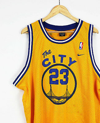 Vtg Nike Golden State Warriors Authentic Stitched Richardson NBA basketball 2XL