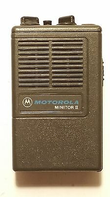 Motorola Minitor II FIRE EMS Pager 2 CHANNEL VHF LOW BAND 46.180MHz