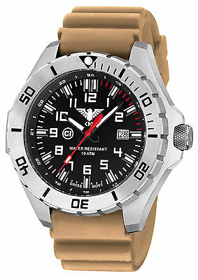 KHS Tactical Watches Landleader German Military Field C1-Light Date KHS.LANS.DT