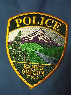 "5"" Banks, Oregon Patch (Police Sheriff)"