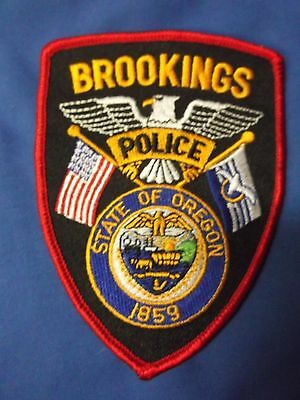 "5"" Brookings, Oregon Patch (Police Sheriff)"