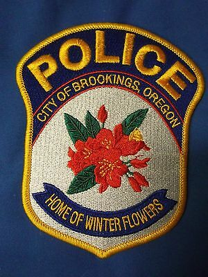 "5"" Brookings, Oregon Patch (Police Sheriff) City of Brookings"