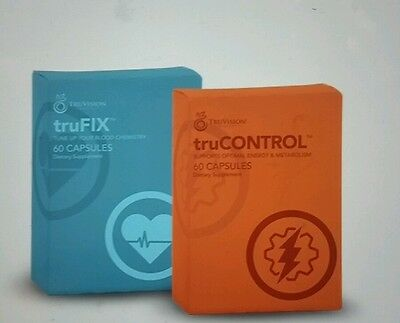 Ships today! New TRUVISION Health TRUCONTROL TRUFIX  30 Day Supply,