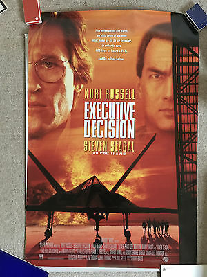 EXECUTIVE DECISION US One Sheet Original Film Poster Kurt Russell