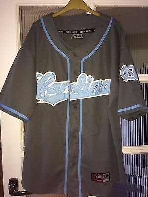 Colosseum North Carolina NCAA College Baseball Shirt Jersey Size Large / XL
