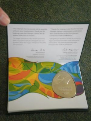Olympic Games Athletes Participation Medal - Rio 2016 (Boxed)