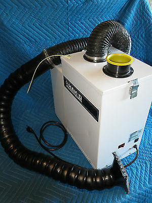 Hakko Fume Extractor HJ3100 with Silencer and Hose Assembly