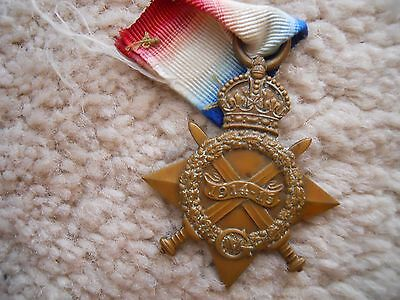 Ww1 1914-1915 Star Medal Original Full Size-...<<))))))