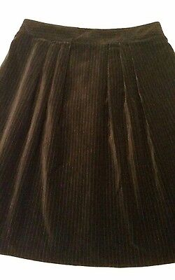 CUE black skirt. Size 10. As new.