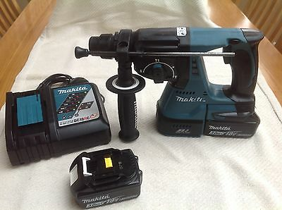Makita Dhr242 Brushless 18V Lxt Sds Drill
