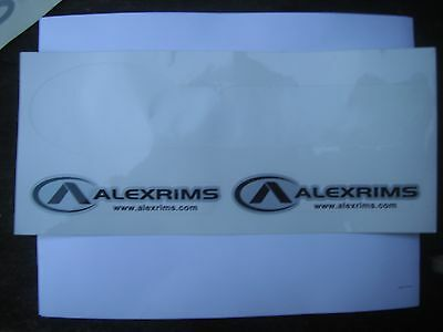 Alexrims Alex Rims Wheels Bicycle Bike Decals Stickers Original Free Shipping!!