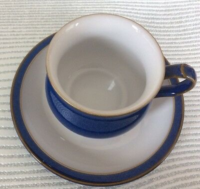 Denby - Imperial Blue -Tea/ Coffee Cup and Saucer (several available)