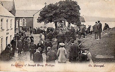 Sanctuary Of Lough Derg Co. Donegal Ireland Irish Postcard Posted 31-July 1909