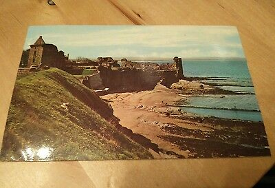 Postcard - St. Andrews - The Castle 1969