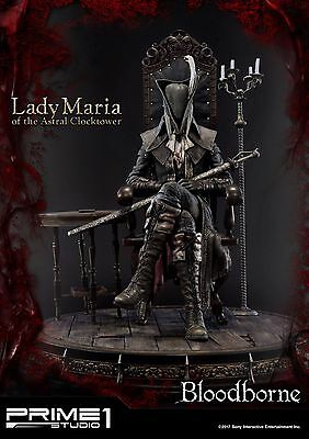 Bloodborne : The Old Hunters Statue Lady Maria of the Astral Clocktower [RARE]