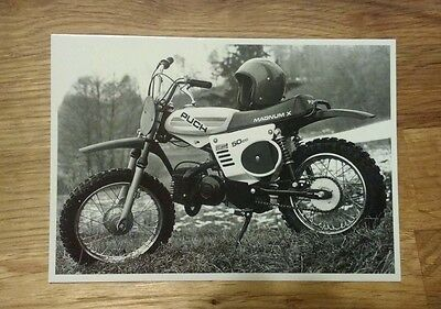 POSTCARD: PUCH Magnum X 1982 - 10x15cm - NEW reproduction postcard from Austria