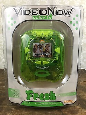 Hasbro VideoNow Color Fx Fresh Green Personal Video Player NEW And SEALED TIGER