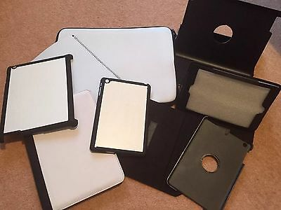 Job Lot Of 29 iPad Pouches And Cases For Sublimation