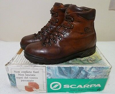 Scarpa Delta Leather Hiking Boots - Great Used Condition!