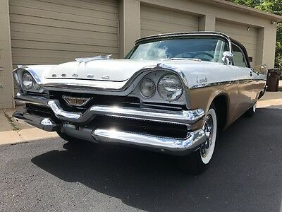 1957 Dodge Coronet  1957 Dodge gold and white beauty!