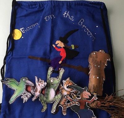 Room On The Broom Story Sack With Resources - EYFS / KS1 / Childminder
