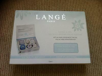 Lange Paris Home Spa Microdermabrasion System Facial Rejuvenation Kit New