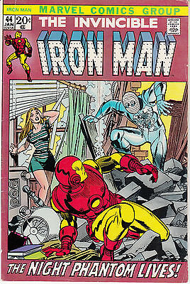 Iron Man #44 (Jan 1972, Marvel)