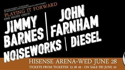 Playing It Forward Concert Tickets - Premium A reserve Seating