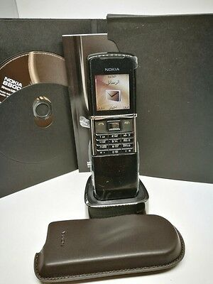 Nokia 8800 sirocco Black new original, Arabic/English