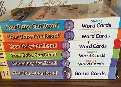Your Baby Can Read Word Cards! 6 Volumes