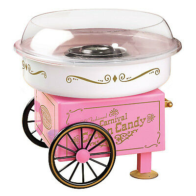 Pink Vintage Collection Cotton Candy Machine for Hard / Sugar-Free Candy PCM-305