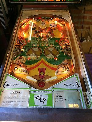 Casino - 1972 Pinball Machine - Chicago Coin