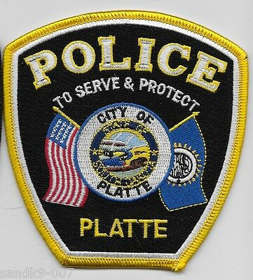 NEW Plate Police State of SOUTH DAKOTA SD Shoulder Patch