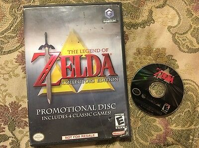 The Legend of Zelda Collector's Edition (Nintendo GameCube) Tested Works Great !