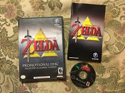 The Legend of Zelda Collector's Edition (Nintendo GameCube) Complete Tested !!