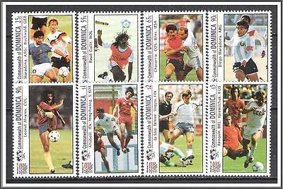 Dominica #1603-1610 World Cup Soccer MNH