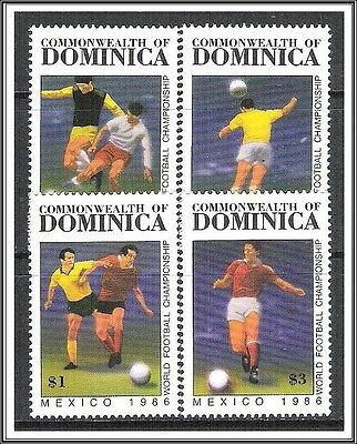 Dominica #935-938 World Cup Soccer MNH