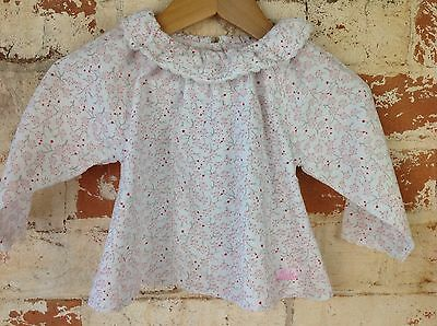Bebe By Minihaha Blouse Top - Size 0 / 6-12 Months