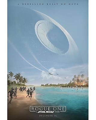 """Rogue One: A Star Wars Story Original, Double Sided Movie Poster (27"""" x 40"""")"""