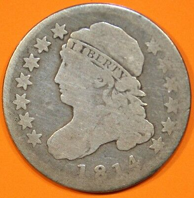 1814 Bust Dime, Small Date
