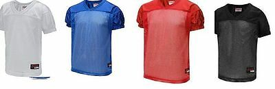 NEW RIDDELL Practice Jersey Football Black White Red Blue Youth S/M NWT