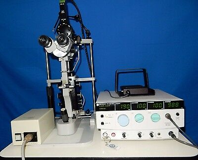 Iridex GLx laser with Zeiss 30-SL and adapter (complete system)